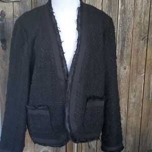Chico's Blazer 2 Black